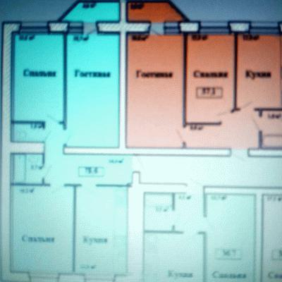 3-х комнатная квартира в новом строящемся жилом доме в МЖ...