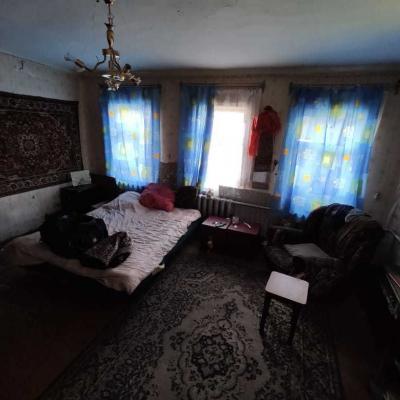 Дом особняк в Сампурском районе. Деревянный стоякоаый дуб...