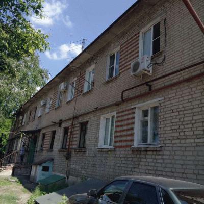 2 смежные комнаты в общежитии переделаны в 1 комнатную кв...