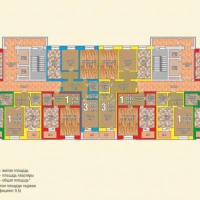 Продается квартира по адресу ул.Рылеева, дом 77а, одноком...